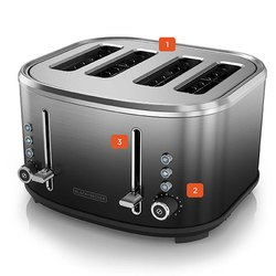 Black And Decker Toaster Bxtoo401in