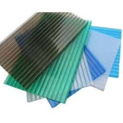 Green Color Coated Polycarbonate Corrugated Roofing Sheets