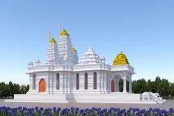 Antique Temple Construction Service, Marble Temple , Temple Construction Services