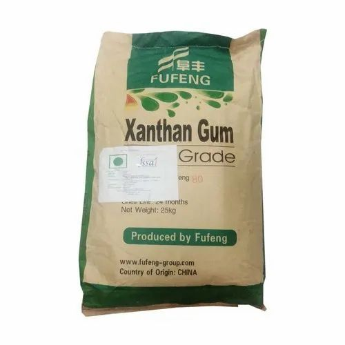 Fufeng Xanthan Gum, Pack Size: 25 Kg, Packaging Type: Bag