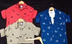 Cotton Collar Neck Mens Full Sleeve Shirts