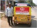 Auto Rickshaw Branding Service / Auto Rickshaw Hood Rexine Advertising