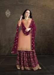 Pr Fashion Launched Heavy Embroidered Designer Suit