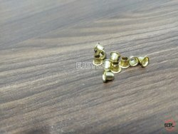 No. 3035 Brass Eyelets Golden