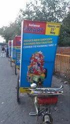 Advertisement Tricycle Rickshaw
