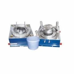 Steel Plastic Bucket Injection Mould, For To Make Plastic Bucket