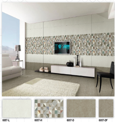 6057 (L, H, D, DF) Hexa Ceramic Digital Wall Tiles