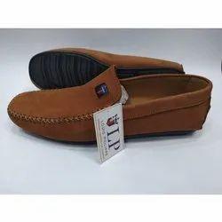 Brown Designer Genuine Leather Loafers