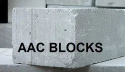 Grey AAC Concrete Light Weight Blocks, Size: 625x250