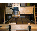 CNC Wood V-Bit Carving Machine