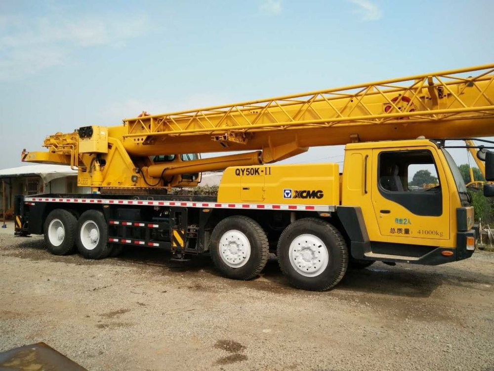 XCMG QY50K-Ⅱ 50 ton Truck Crane