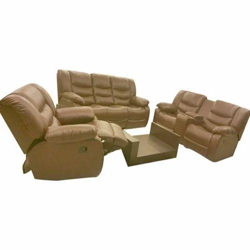 Light Brown Recliner Sofa Set Rs 65000 Set Furniture