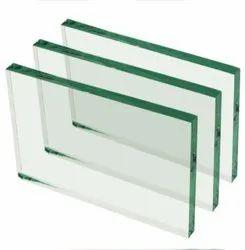 Rectangular Saint Gobain Decorative Float Glass Thickness 12mm