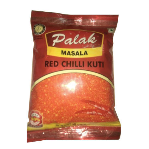 200g Palak Red Kuti Mirch, Packaging: Packet