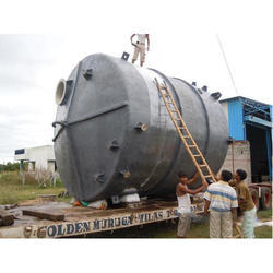 Grey Mild Steel Storage Tanks