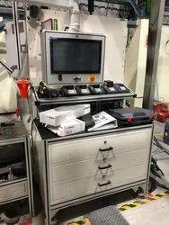 Aluminum Profile Ms Table Top Machine Tables, Size: 1000x700