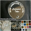 Token Acrylic Customised