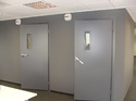 Gray Acoustic Ms Safety Door