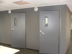 Acoustic MS Safety Door