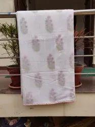 Meera's Hand Block Printed Cotton Dohar Baby Blanket Baby Quilt Trow