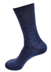 Ladies Navy Blue Winter Socks