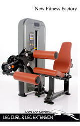 Leg Curl Extension Machine For Gym