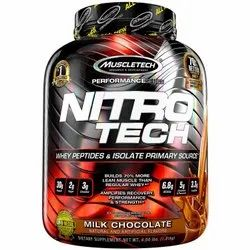 Muscletech Nitrotech Protien Isolate Weight Gainer Powder, Packaging Size: 4.00 Lbs
