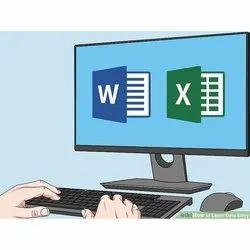 Hindi, English Data Entry Book Typing, India, Banking
