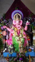 Shree Ganesh Fiber Statue