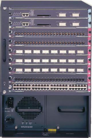 Cisco Catalyst 6509 E Chassis View Specifications