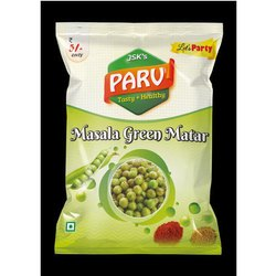 Parv Spicy Masala Green Matar, Packaging Size: 25 Grams