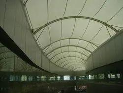 Tensile Doom Roofing Structure