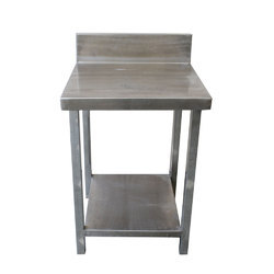 Standard Polished Stainless Steel Working Table, Size: 24 X 34 Inches