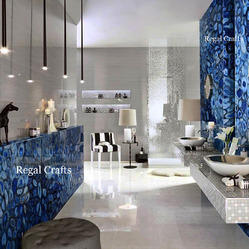 Blue Agate Wall Slab