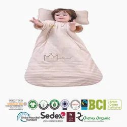 Organic baby toodler sleeping bag