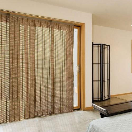 Bamboo Kitchen Curtains: Brown Window Bamboo Curtains, Rs 150 /square Feet, Mahavir