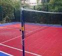 Fixed Type Badminton Pole