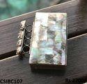 brass pearl designer clutch