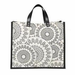 Custom Printed Jute Gift Bag, EB55601