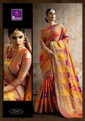 Sangrila Poshak Silk Series 5241-5246 Stylish Party Wear Silk Saree
