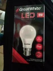 Great White Cool Daylight 9w LED Bulb