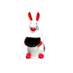 FRP Rabbit Dustbin