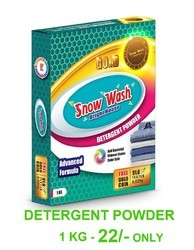 Snow Wash Washing Detergent Powder