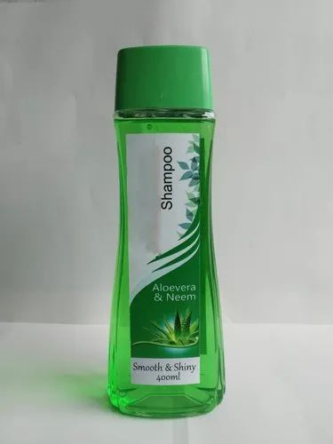 Neem Aloevera Herbal Shampoo, Packaging Type: Bottle