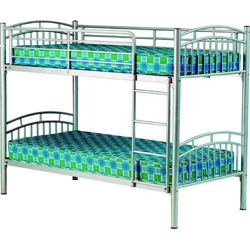 """Steel Fab Stainless Steel Bunk Bed, Size: Size - 78""""lx32""""wx66""""h, for Hostel"""