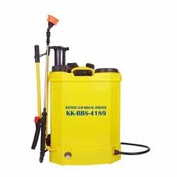 Yellow Kisankraft KK-BBS-4189 Battery Cum Manual Sprayer