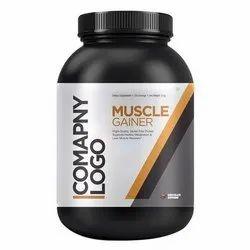 muscle monk Milk Protein, Plastic Container, Prescription