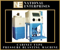 National Enterprises Cabinet Type Pressure Blaster, For Industrial
