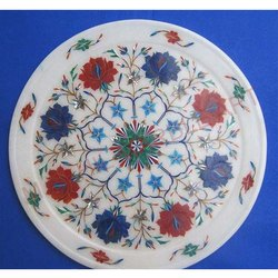 Marble Inlay Plate