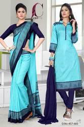 Teacher Saree Salwar Cambo